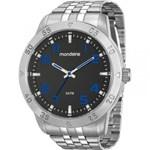 Relógio Mondaine Masculino Prata 99190G0MVNE1