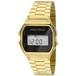 Relógio Mormaii Vintage Digital Dourado Mojh02ab/4p