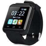 Ficha técnica e caractérísticas do produto Relógio Smartwatch U8 - Preto