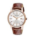 Relógio Technos Classic Steel - 2115RQ/2K- Marrom
