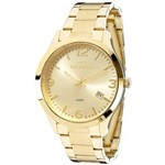 Relógio Technos Dourado Feminino Elegance Dress Analógico 2315acd/4x