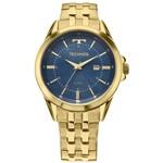 Relógio Technos Executive Masculino Dourado 2115KZC/4A 2115KZC/4A