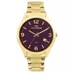 Ficha técnica e caractérísticas do produto Relógio Technos Dress 2315ACD/4N Dourado