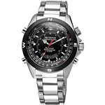 Relógio Technos Masculino Analógico e Digital Esportivo Prata T20560/1P