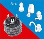 Ficha técnica e caractérísticas do produto Resistência 220V 5400W P/ Kibanho Ducha e Torneiras 3 Temperaturas 0433 - FAME
