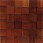 Revestimento de Madeira Wood Line Esplendor Relevo 30cmx30cm Jatobá