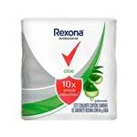 Rexona Antibacteriano Aloe Sabonete Barra 3x84g