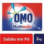 Ficha técnica e caractérísticas do produto Sabão em Pó Omo Multiação 2kg