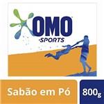 Ficha técnica e caractérísticas do produto Sabão em Pó Omo Sports 800 G, OMO