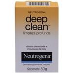 Ficha técnica e caractérísticas do produto Sabonete Facial Neutrogena Deep Clean – 80 G