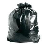 Saco de Lixo 45x55x003 20l Plastilixo Preto Pct 100 Un