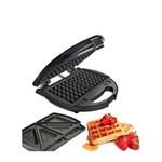 Ficha técnica e caractérísticas do produto Sanduicheira e Máquina de Waffles com Placas Intercambiáveis Oster - 110V