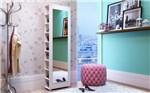 Ficha técnica e caractérísticas do produto Sapateira Bst 14-06 20 Pares com Espelho Branco - BRV Móveis - Brv Moveis