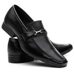 Sapato Social Masculino em Couro Legítimo Costura Manual VR