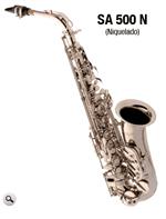Ficha técnica e caractérísticas do produto Sax Alto Eagle Sa 500 N Mib