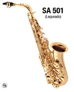 Ficha técnica e caractérísticas do produto Sax Alto Eagle Sa 501