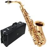 Ficha técnica e caractérísticas do produto Saxofone Alto Laqueado Sa501 Eagle em Mib com Case