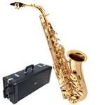 Ficha técnica e caractérísticas do produto Saxofone Eagle Alto SA501 em Mib Laqueado com Case