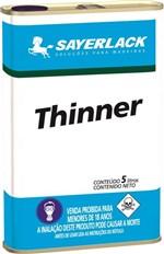Ficha técnica e caractérísticas do produto Sayerlack Thinner Especial 5 Litros