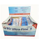 Ficha técnica e caractérísticas do produto Seringa 0,5ml Ultra-fine Ag 8 Bd com 10 Unid.