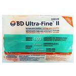 Ficha técnica e caractérísticas do produto Seringa para Insulina Bd Ultra Fine Ii Agulha Curta (Seringa de 1 Ml C/ Agulha de 8mm X 0,3mm)