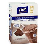Shake Linea Premium Sucralosa Chocolate com 400 Gramas
