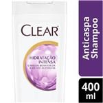 Ficha técnica e caractérísticas do produto Shampoo Anticaspa Clear Hidratação Intensa - 400 Ml