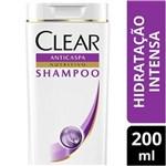 Ficha técnica e caractérísticas do produto Shampoo Anticaspa Clear Women Hidratação Intensa - 200ml