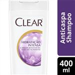 Ficha técnica e caractérísticas do produto Shampoo Anticaspa Clear Women Hidratação Intensa 400 ML
