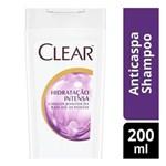 Ficha técnica e caractérísticas do produto Shampoo Clear Anticaspa Hidratação Intensa 200ml