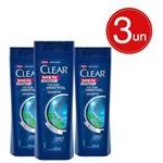 Ficha técnica e caractérísticas do produto Shampoo Clear Anticaspa Ice Cool Menthol 200ml