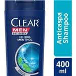 Ficha técnica e caractérísticas do produto Shampoo Clear Ice Cool Menthol 400ml
