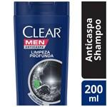 Ficha técnica e caractérísticas do produto Shampoo Clear Men Limpeza Profunda 200ml