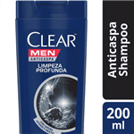 Ficha técnica e caractérísticas do produto Shampoo Clear Men Limpeza Profunda SH CLEAR MEN LIMPEZA PROFUNDA 200ML