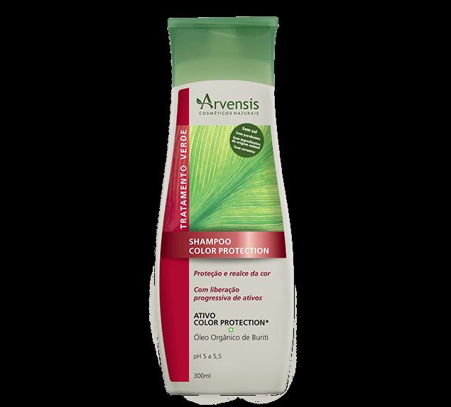 Ficha técnica e caractérísticas do produto Shampoo Color Protection Arvensis 300Ml