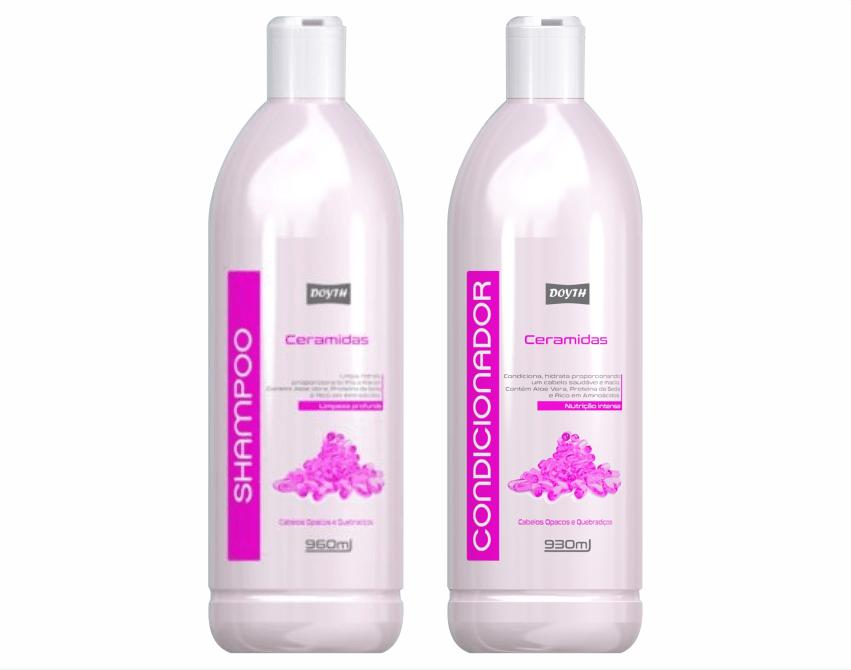 Ficha técnica e caractérísticas do produto Shampoo + Condicionador Ceramidas Doyth