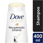 Ficha técnica e caractérísticas do produto Shampoo Dove Recuperação Extrema para Cabelos Danificados - 400ml