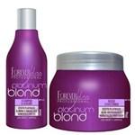 Ficha técnica e caractérísticas do produto Shampoo e Mascara Matizadorora Platinum Blond