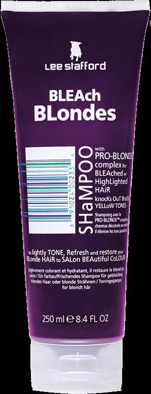 Ficha técnica e caractérísticas do produto Shampoo Lee Stafford Bleach Blondes - 250Ml