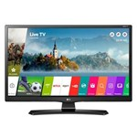 "Ficha técnica e caractérísticas do produto Smart TV LED 24"" LG 24MT49S-PS HD com Wi-Fi, USB, 2 HDMI, Função Monitor Screen Share e Cinema Mode"