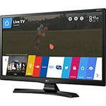 "Smart TV LG LED 28"" 28MT49S-PS HD com Conversor Digital Wi-Fi Integrado 2 HDMI 1 USB WebOS 3.5 Apps Screen Share"