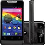 Smartphone Dual Chip Motorola Razr D1 Preto TV Android 4.1 Desbloqueado Câmera 5MP 3G Wi-Fi