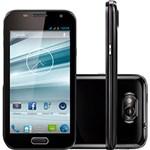 "Ficha técnica e caractérísticas do produto Smartphone Dual Chip Multilaser Preto MS4 - Tela 4,5"", Android 4.2, Câmera 8MP, Wi Fi, 3G"