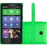 Smartphone Dual Chip Nokia X Desbloqueado Verde Nokia Platform 1.1 Conexão 3G Memória Interna 4GB
