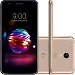 """Ficha técnica e caractérísticas do produto Smartphone K11 Plus 32GB 5,3"""" Dual Chip 4G Dourado LG"""