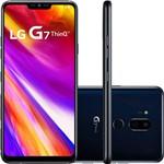 "Smartphone LG G7 Thinq Dual Chip Android 8.0 Tela 6.1"" QHD+ Fullvision Qualcomm Snapdragon 845 64GB 4G Câmera 16 + 16MP (Dual Traseira) - Preto"