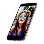 """Ficha técnica e caractérísticas do produto Smartphone LG K11 Alpha LMX410BTW Tela 5,3"""" 16GB 13MP Dual Chip Dourado"""