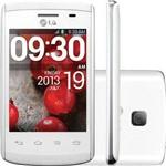 Smartphone Lg Optimus L1 Ii E410f Desbloqueado 3g Android Wifi Câmera 2mp Bluetooth - Branco