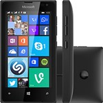 "Smartphone Microsoft Lumia 435 DTV Dual Chip Desbloqueado Windows Phone 8.1 Tela 4"" 8GB 3G Wi-Fi Câmera 2MP - Preto"