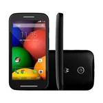 Ficha técnica e caractérísticas do produto Smartphone Moto e XT1022 4GB, 3G Dual Chip, Android, Câm. 5 MP, Tela 4.3, Wi-Fi Preto